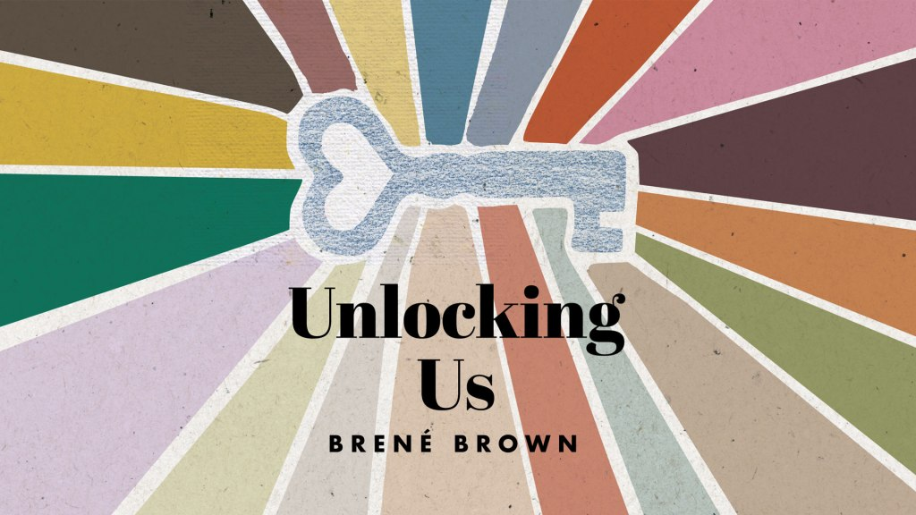 Podcast Recommendation- UNLOCKING US by Brené Brown – MURDERINO READS